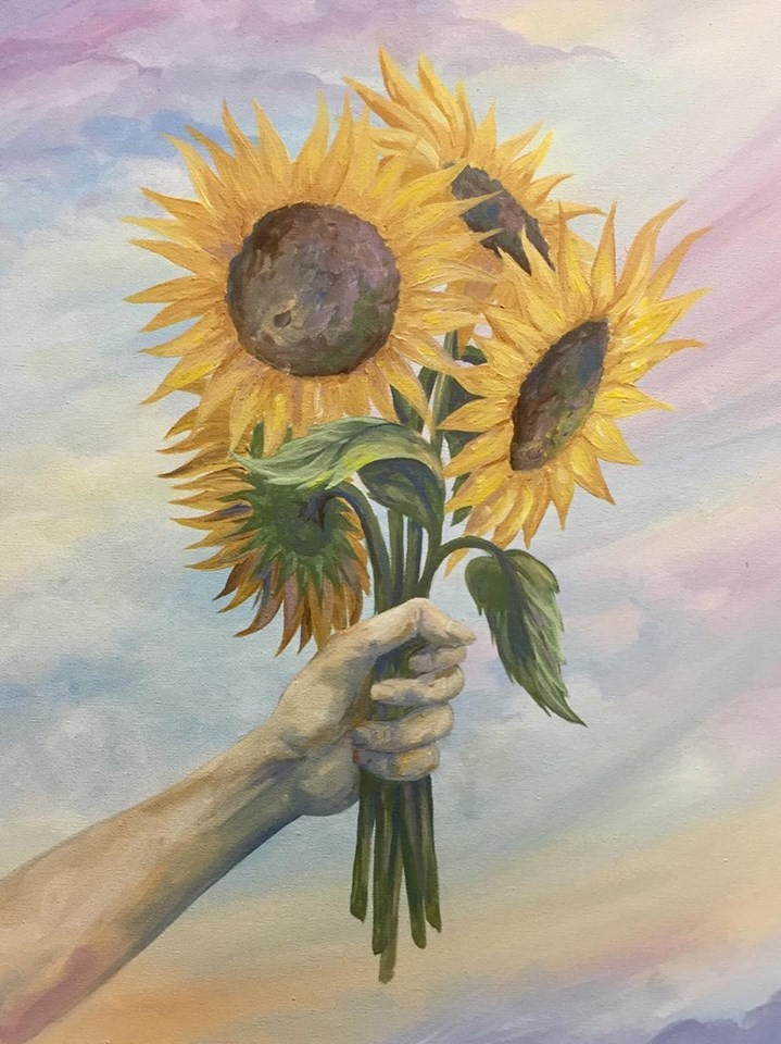 Canvas Paintings by Laura Wolanin of Praise the Sun Shop