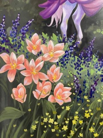Fairy Mural by Laura Wolanin, Praise the Sun Shop