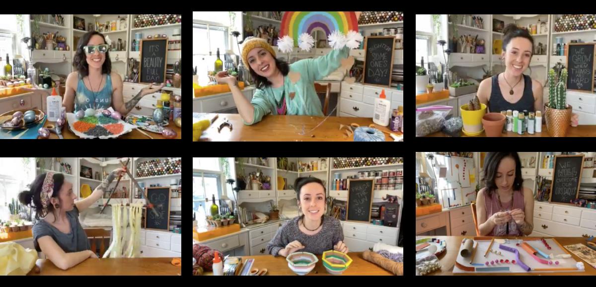 Quarantine Crafts with Laura Wolanin